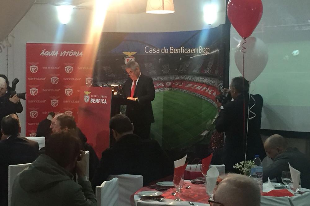 Inauguracão casa do Benfica