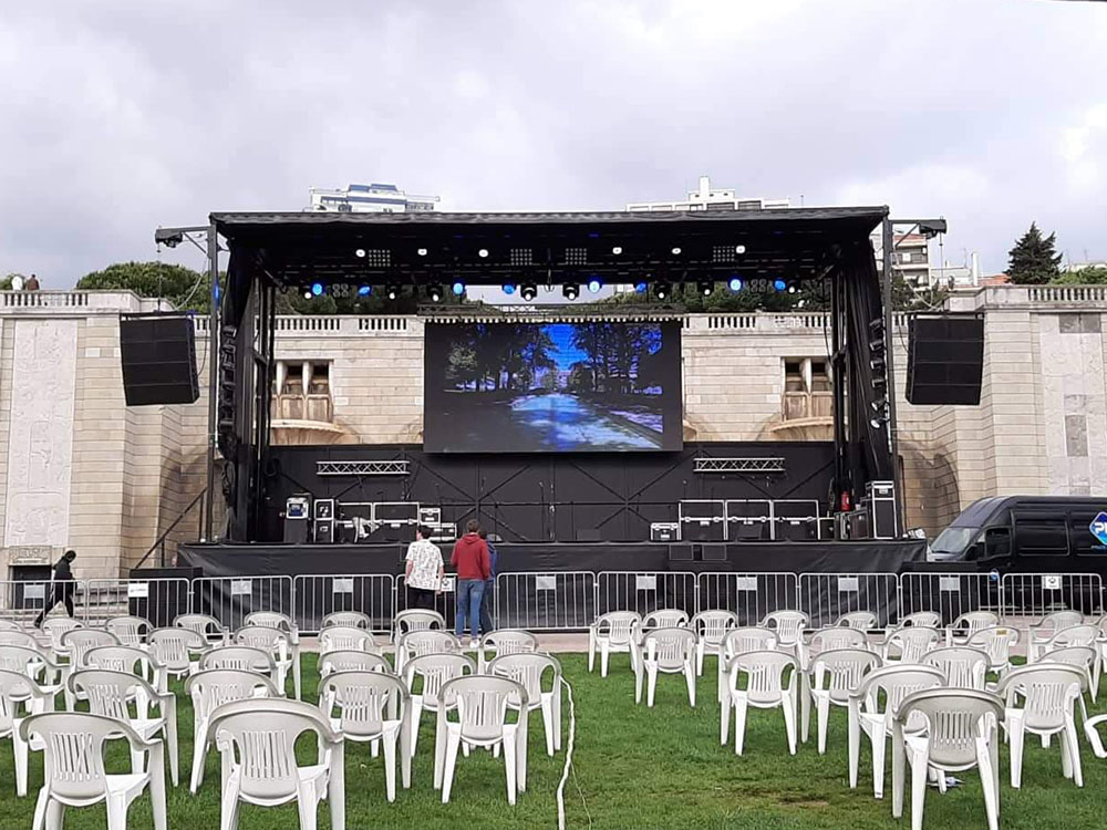 avbox - palco móvel