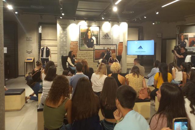 Lançamento campanha VRCT Adidas