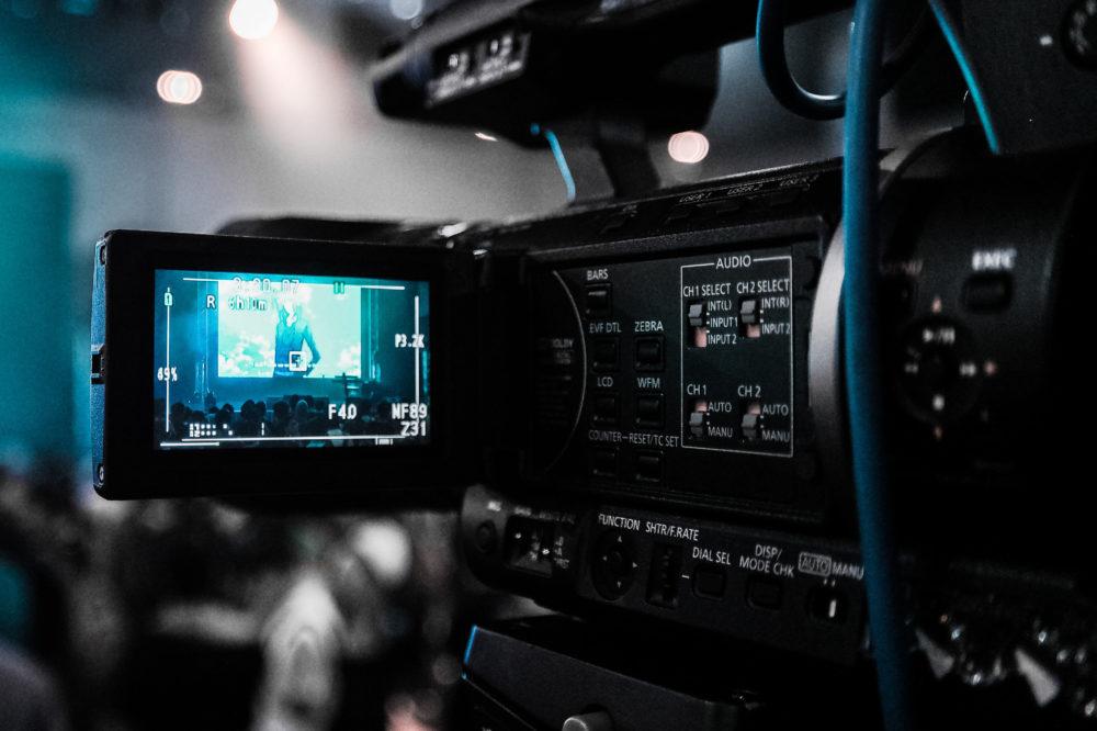 soluções de streaming - camera