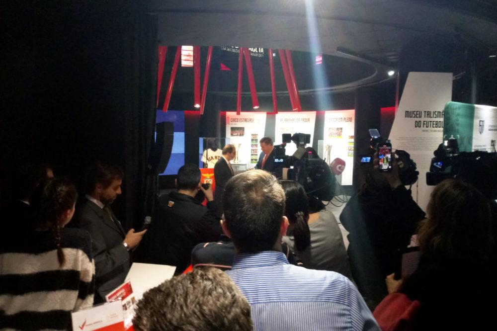 Apresentação Parceria Benfica e San Francisco Giants